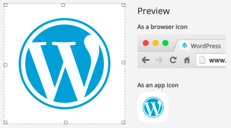 WordPress4.3リリース:サイトアイコンを簡単につけることが可能に