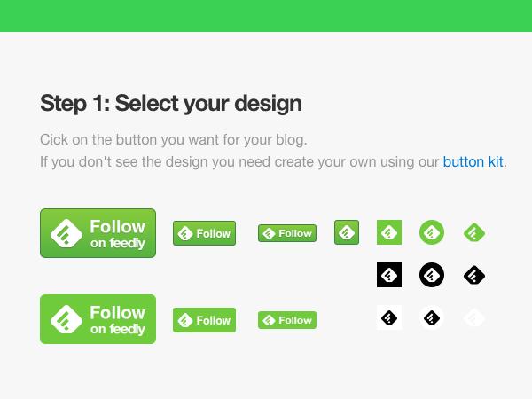 よく見かけるこのボタンは:feedlyブログを読むのに便利です