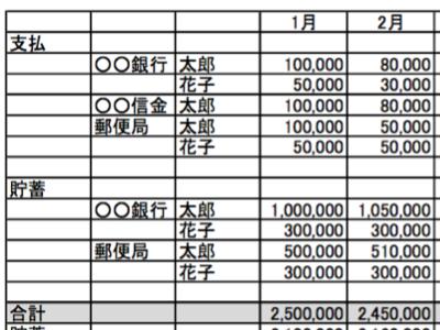 どうしても家計簿がつけられない:まずは預金の定点観測から