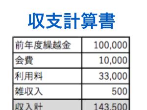 収支計算書を見るときのポイント:いくら増減しているか