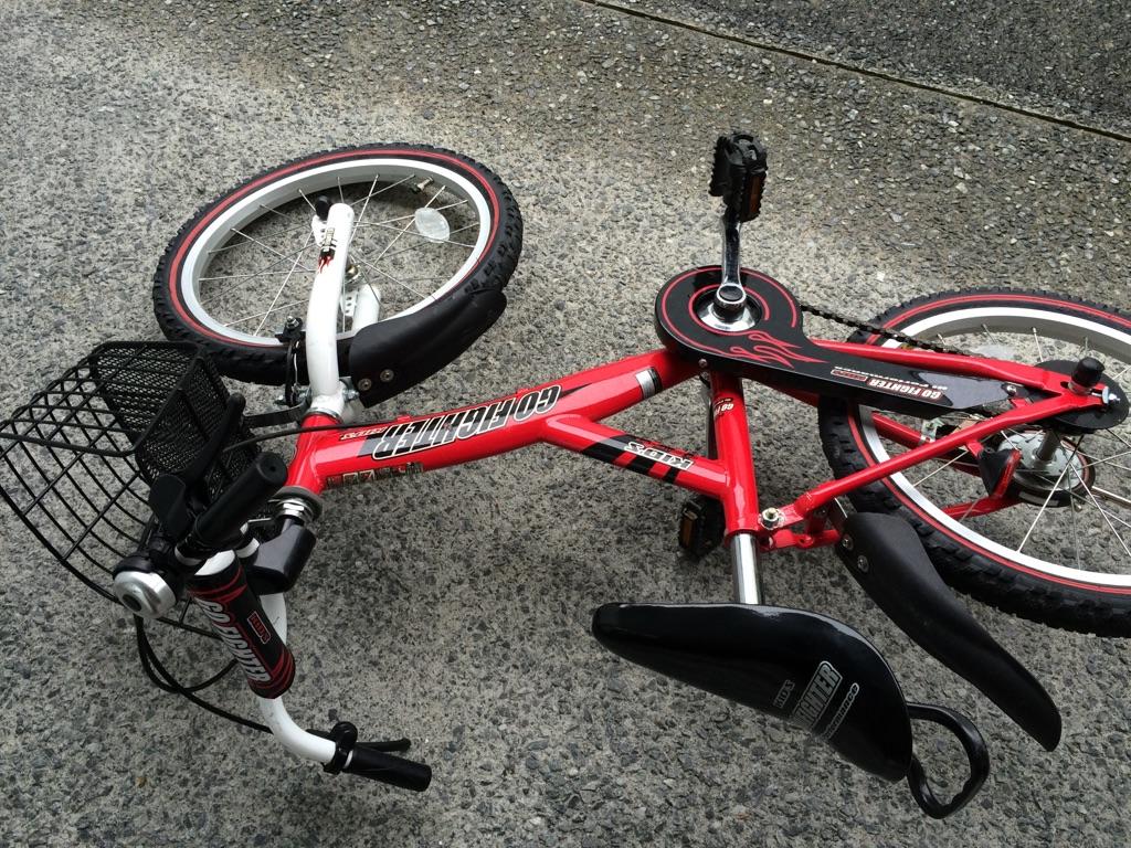 倒れた自転車は起こす派?起こさない派?:判断するとき気をつけていること