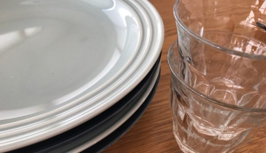 とっておきの食器より:普段使いの食器のほうがキレイの法則