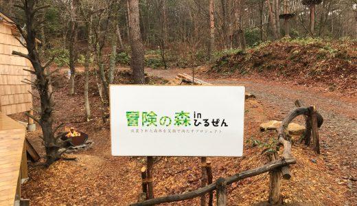 冒険の森inひるぜん:親子で楽しめる未体験アクティビティ