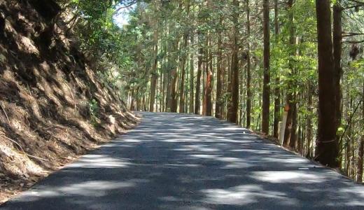 岡山県鏡野町:越畑ふるさと村まで走ってみた